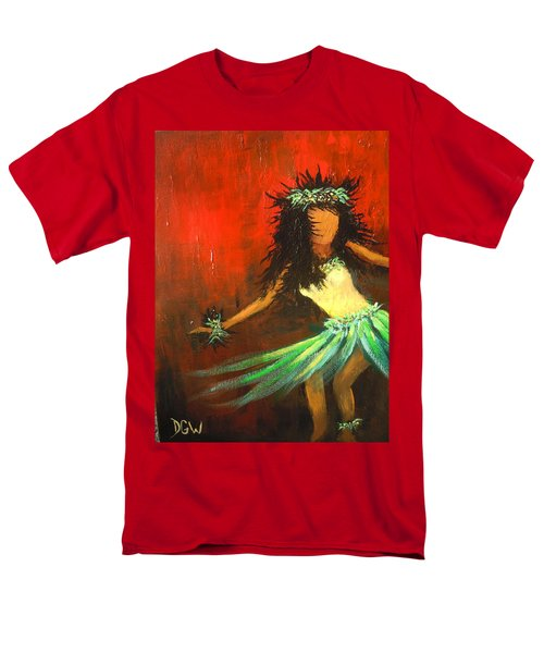 The Young Dancer Men's T-Shirt  (Regular Fit) by Dan Whittemore
