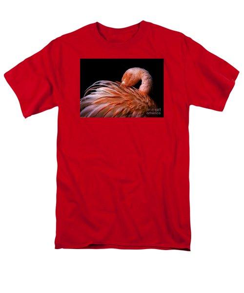 Think Pink Men's T-Shirt  (Regular Fit) by Mitch Shindelbower