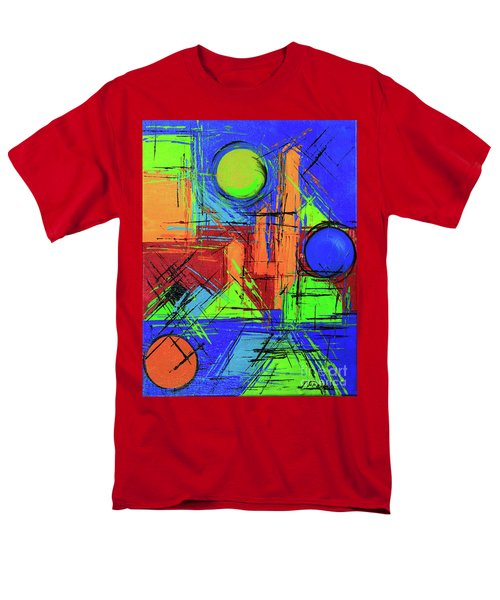Three Moons Men's T-Shirt  (Regular Fit) by Jeanette French