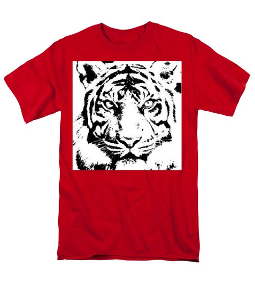 Tiger Men's T-Shirt  (Regular Fit) by Now