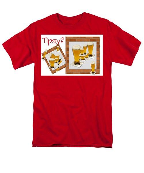 Tipsy ? Men's T-Shirt  (Regular Fit) by Tina M Wenger