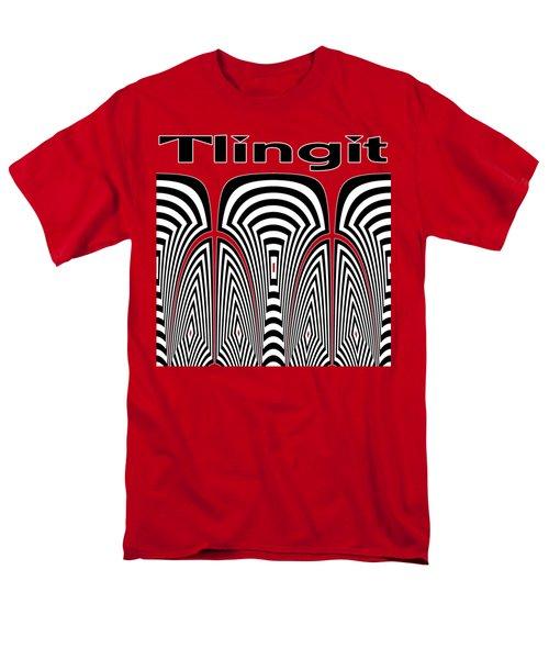 Tlingit Tribute Men's T-Shirt  (Regular Fit) by Methune Hively