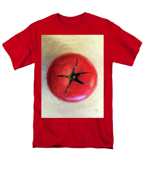 Men's T-Shirt  (Regular Fit) featuring the digital art Tomato by Lois Bryan