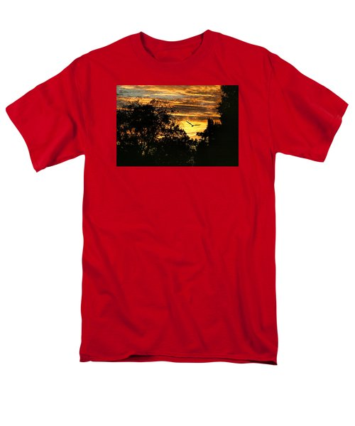 Men's T-Shirt  (Regular Fit) featuring the photograph Tomorrow Land by Joan Bertucci