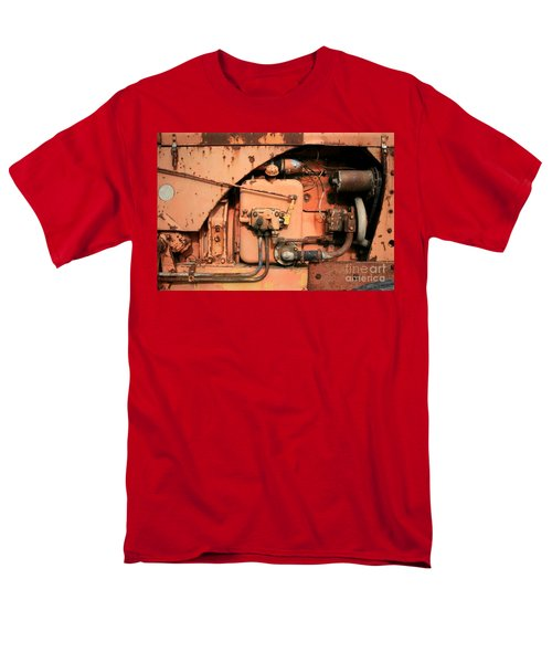 Men's T-Shirt  (Regular Fit) featuring the photograph Tractor Engine V by Stephen Mitchell