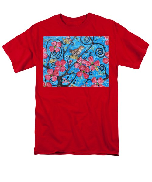 Men's T-Shirt  (Regular Fit) featuring the painting Tree Of Life by Reina Resto