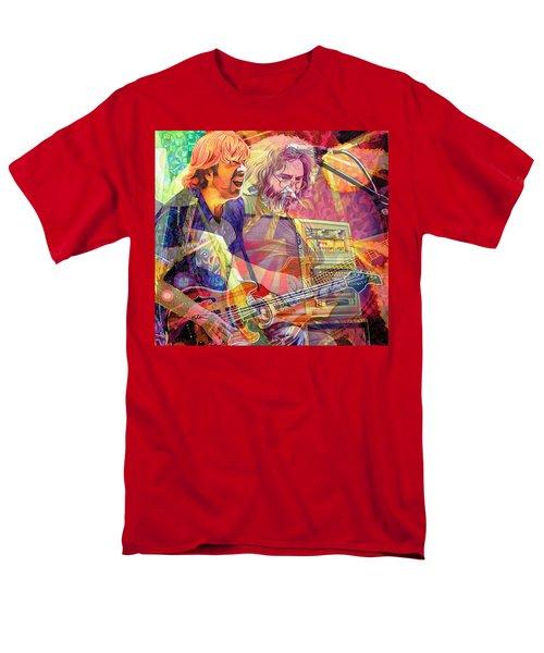 Trey Channeling Cosmic Jerry Men's T-Shirt  (Regular Fit) by Joshua Morton