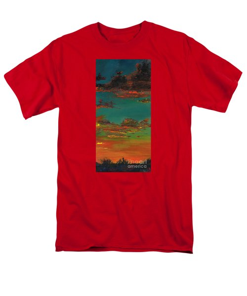 Triptych 3 Men's T-Shirt  (Regular Fit) by Frances Marino