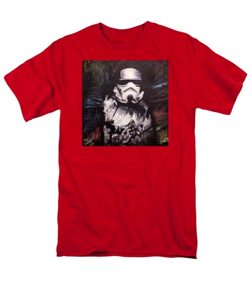 Men's T-Shirt  (Regular Fit) featuring the painting Trooper  by Dan Wagner