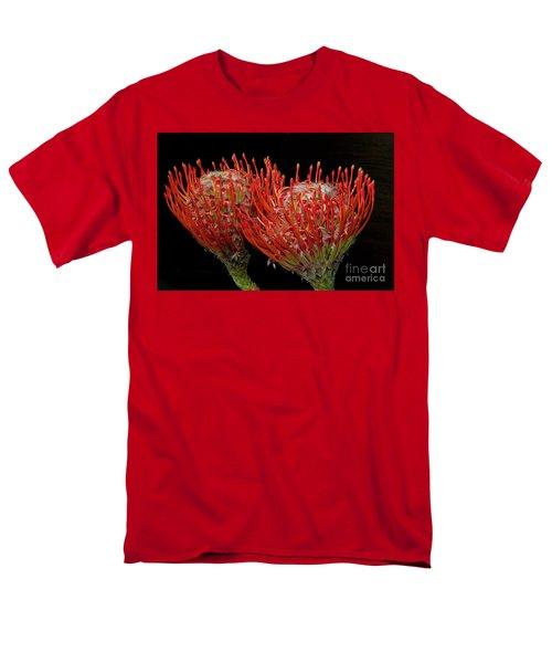 Tropical Flower Men's T-Shirt  (Regular Fit) by Elvira Ladocki