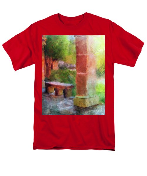Men's T-Shirt  (Regular Fit) featuring the digital art Tropical Memories by Lois Bryan