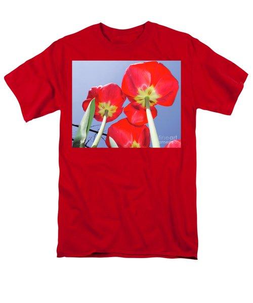 Men's T-Shirt  (Regular Fit) featuring the photograph Tulips by Elvira Ladocki