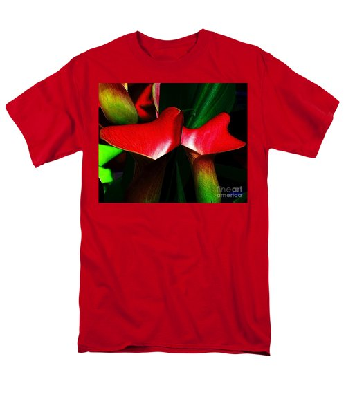 Men's T-Shirt  (Regular Fit) featuring the photograph Twins by Elfriede Fulda
