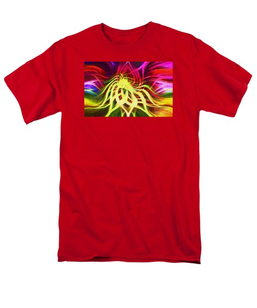 Men's T-Shirt  (Regular Fit) featuring the photograph Twirly Mandala 01 by Jack Torcello