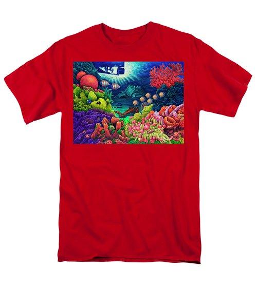Undersea Creatures Vii Men's T-Shirt  (Regular Fit) by Michael Frank