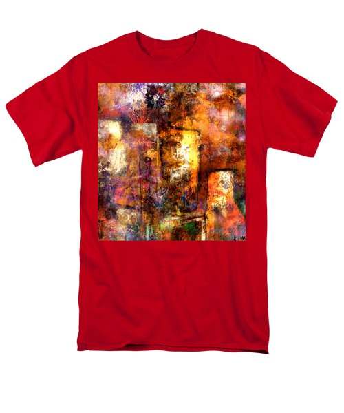 Men's T-Shirt  (Regular Fit) featuring the mixed media Urban #4 by Kim Gauge