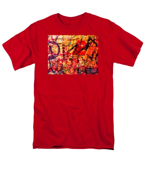 Men's T-Shirt  (Regular Fit) featuring the photograph Urban Grunge One by Ken Frischkorn