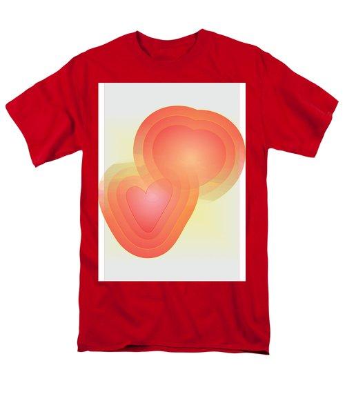Men's T-Shirt  (Regular Fit) featuring the digital art Valentine by Sherril Porter