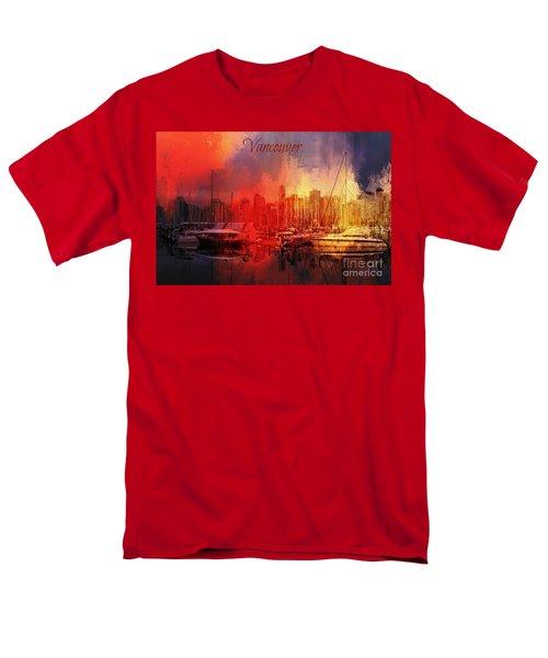 Vancouver Men's T-Shirt  (Regular Fit) by Eva Lechner