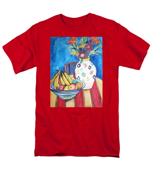 Vase And Bowl Men's T-Shirt  (Regular Fit) by Esther Newman-Cohen