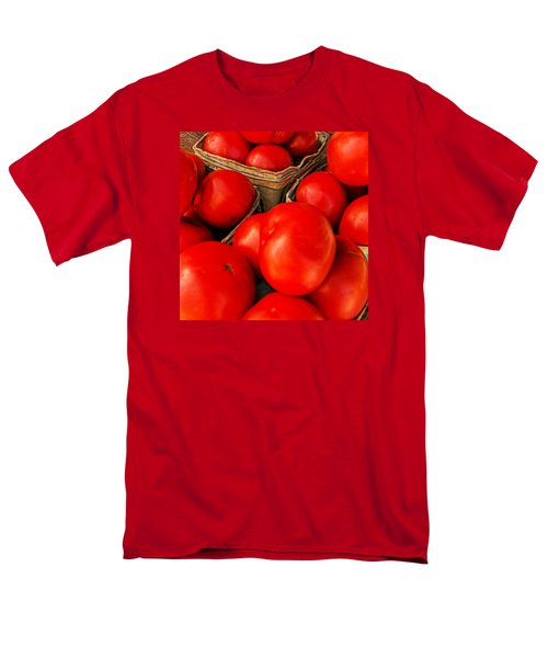 Very Red Tomatoes Men's T-Shirt  (Regular Fit) by Lewis Mann