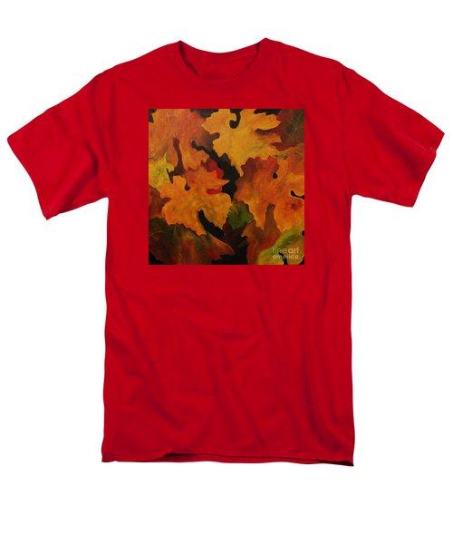Vine Leaves Men's T-Shirt  (Regular Fit) by John Stuart Webbstock