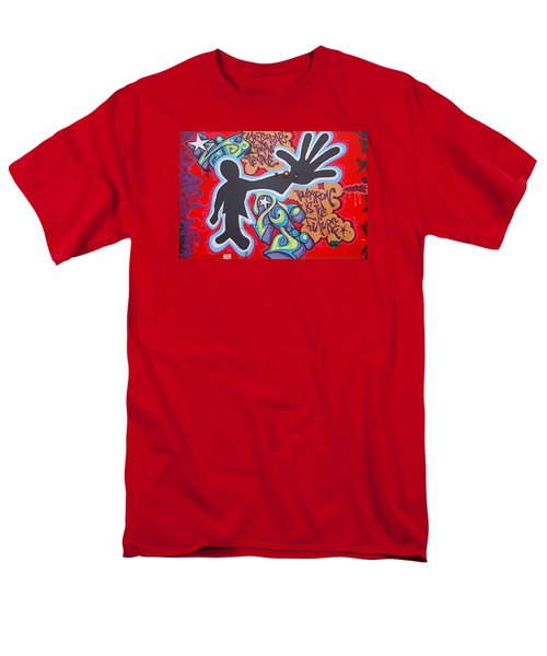 Vision Men's T-Shirt  (Regular Fit) by  Newwwman
