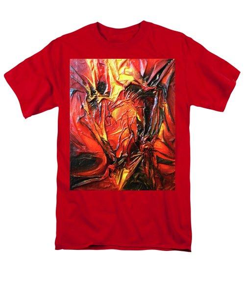 Volcanic Fire Men's T-Shirt  (Regular Fit)