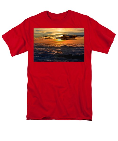 Vulcan Bomber Sunset 2 Men's T-Shirt  (Regular Fit) by Ken Brannen