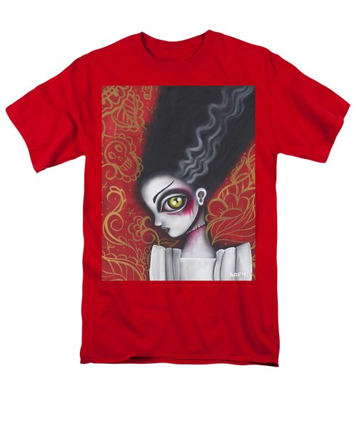 Waiting For  Frankenstein  Men's T-Shirt  (Regular Fit) by Abril Andrade Griffith