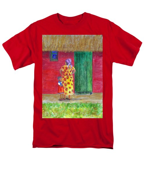 Waiting In Zimbabwe Men's T-Shirt  (Regular Fit) by Patricia Beebe