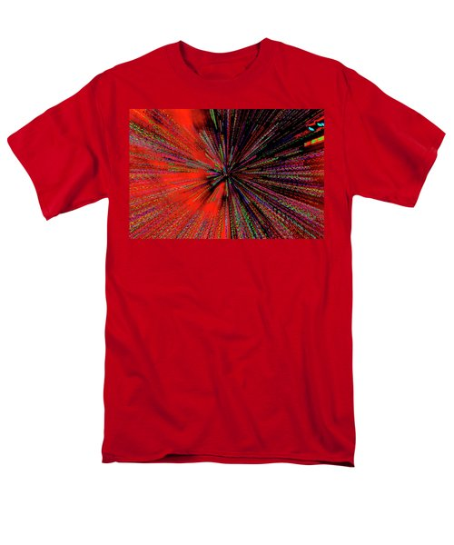 Men's T-Shirt  (Regular Fit) featuring the photograph Warp Drive Mr Scott by Tony Beck