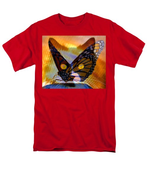 Men's T-Shirt  (Regular Fit) featuring the photograph Watching Butterlies by David Lee Thompson