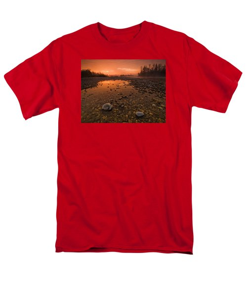 Water On Mars Men's T-Shirt  (Regular Fit) by Davorin Mance