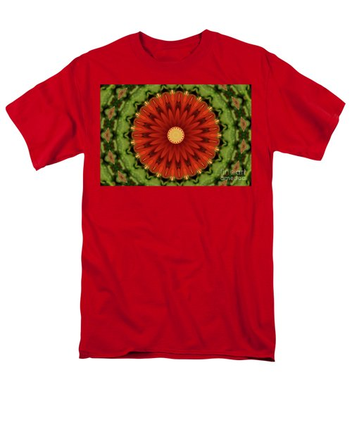 Watermelon Delight Men's T-Shirt  (Regular Fit) by Sheila Ping