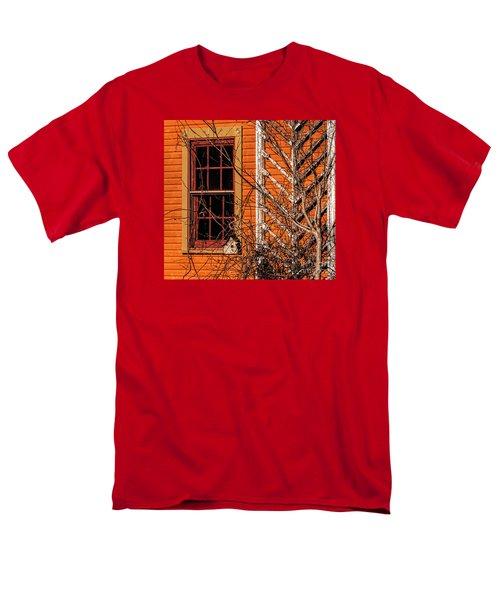 White Bird House Men's T-Shirt  (Regular Fit) by Trey Foerster