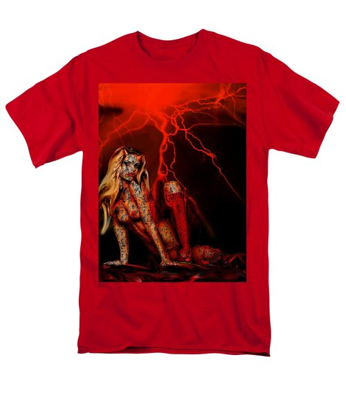 Wicked Beauty Men's T-Shirt  (Regular Fit) by Tbone Oliver