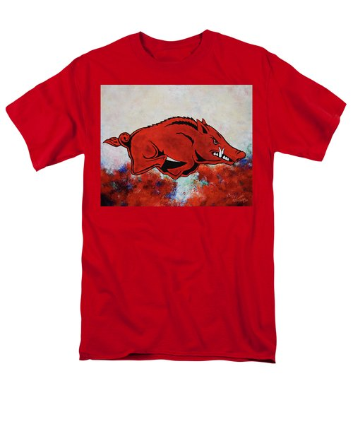 Woo Pig Sooie Men's T-Shirt  (Regular Fit) by Belinda Nagy
