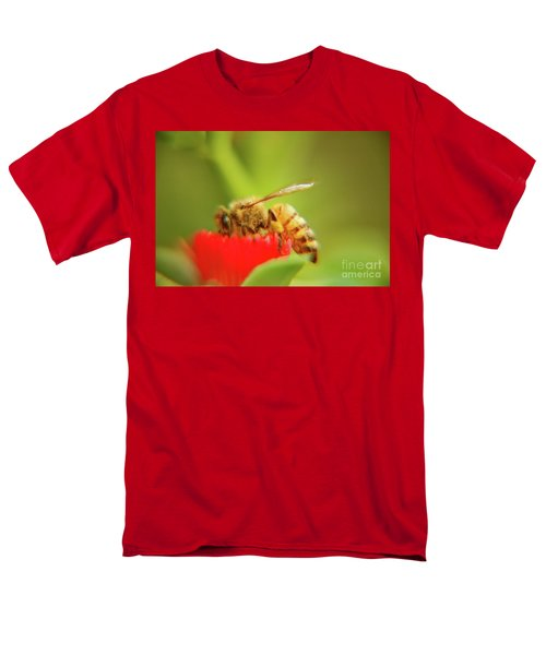 Men's T-Shirt  (Regular Fit) featuring the photograph Worker Bee by Micah May