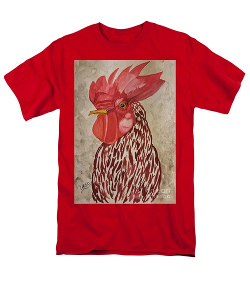 Year Of The Rooster 2017 Men's T-Shirt  (Regular Fit) by Maria Urso