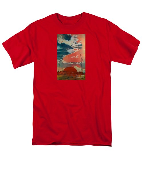 Men's T-Shirt  (Regular Fit) featuring the painting Yin And Yang by Elizabeth Carr