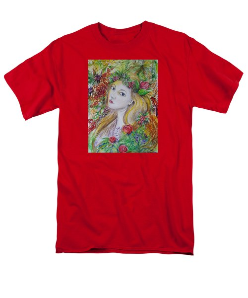 Young Summer  Men's T-Shirt  (Regular Fit) by Rita Fetisov