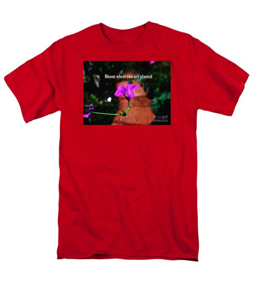 Men's T-Shirt  (Regular Fit) featuring the photograph Your Station In Life by Gary Wonning