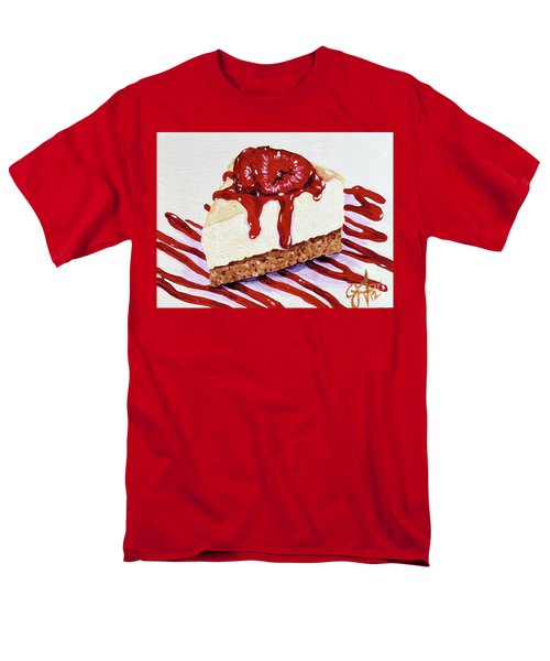 Men's T-Shirt  (Regular Fit) featuring the painting Yumminess by Jackie Carpenter