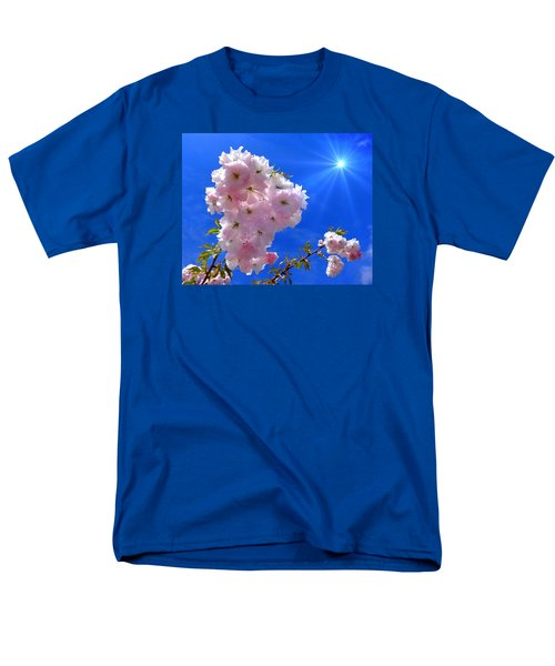 Men's T-Shirt  (Regular Fit) featuring the photograph Cherry Blossoms  by Nick Kloepping