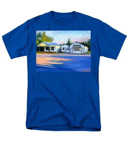 Huckstep's Garage Free Union Virginia Men's T-Shirt  (Regular Fit) by Catherine Twomey