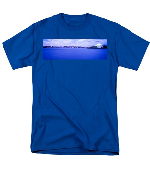 Tidal Basin Washington Dc Men's T-Shirt  (Regular Fit) by Panoramic Images