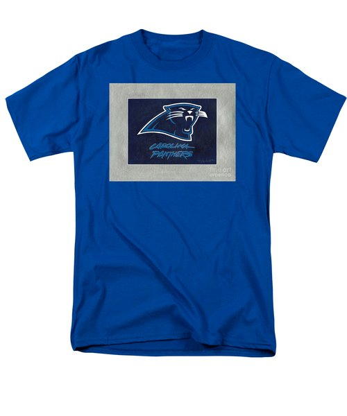 Panthers  Men's T-Shirt  (Regular Fit) by Herb Strobino