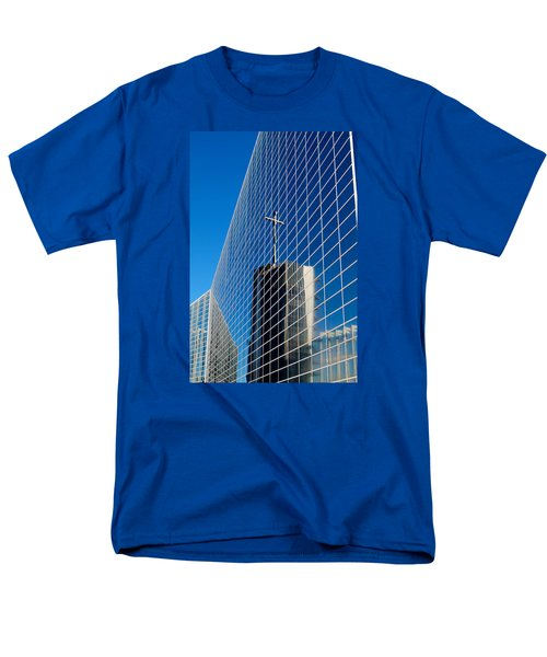Men's T-Shirt  (Regular Fit) featuring the photograph The Crystal Cathedral by Duncan Selby