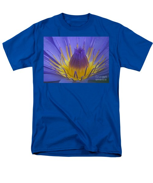 Men's T-Shirt  (Regular Fit) featuring the photograph Tropic Water Lily 16 by Rudi Prott